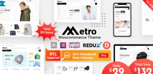 Metro - Minimal WooCommerce WordPress Theme