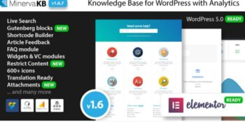 MinervaKB - Knowledge Base for Wordpress with Analytics