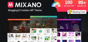 Mixano - Minimal WordPress Theme