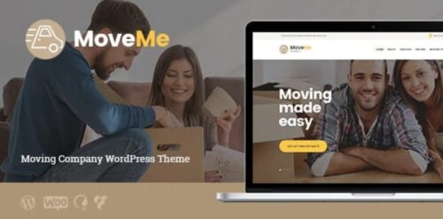 MoveMe - Moving & Storage Relocation Company WordPress Theme
