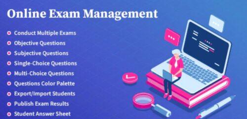 Online Exam Management - Education & Results Management