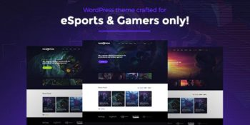 PixieFreak - eSports gaming theme for teams & tournaments