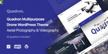 Quadron - Aerial Photography & Videography Drone WordPress Theme