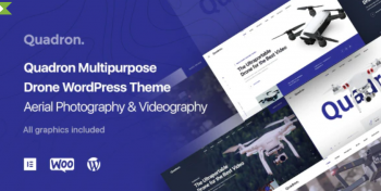 Quadron - Aerial Photography & Videography Drone WordPress Theme