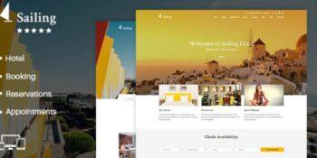 Sailing - Hotel WordPress Theme