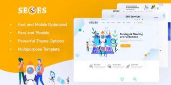Seoes - Marketing Agency WordPress Theme