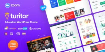 Turitor- LMS & Education WordPress Theme
