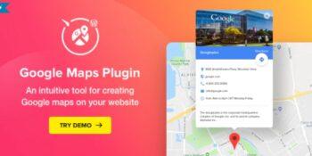 WP Google Maps - Map Plugin for WordPress