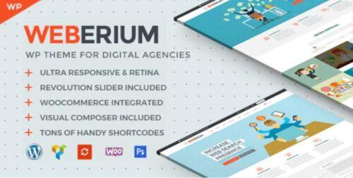 Weberium - Theme Tailored for Digital Agencies