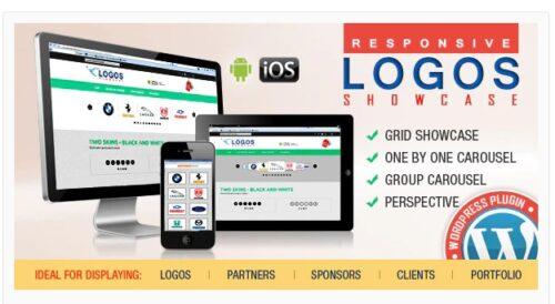 WordPress Logos Showcase - Grid and Carousel