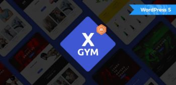 X-Gym - Fitness WordPress Theme for Fitness Clubs
