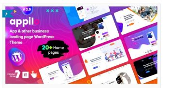 Appilo - App Landing Page