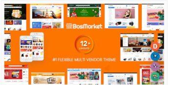 BosMarket- Flexible Multivendor WooCommerce WordPress Theme