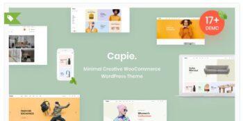Capie - Minimal Creative WooCommerce WordPress Theme