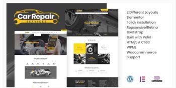 Car Repair Services & Auto Mechanic - WordPress Theme + RTL