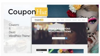 CouponHut - Coupons and Deals WordPress Theme