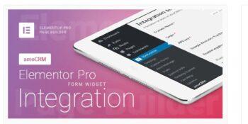 Elementor Pro Form Widget - amoCRM - Integration