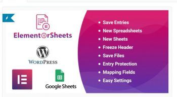 ElementorSheets - Elementor Pro Form Google Spreadsheet Addon