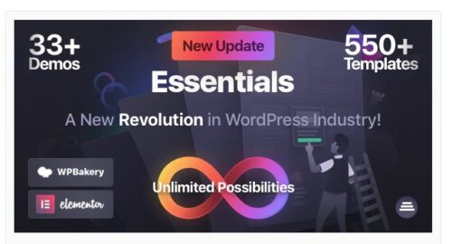 Essentials - Multipurpose WordPress Theme