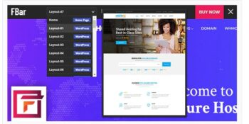 FBar - Responsive WordPress Demo Switch Bar Plugin