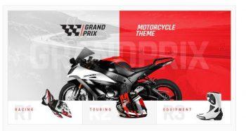 GrandPrix - Motorcycle WordPress Theme