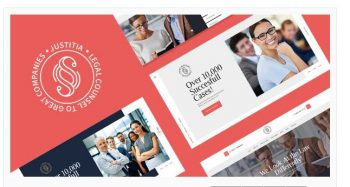 Justitia - Multiskin Lawyer & Legal Adviser WordPress Theme