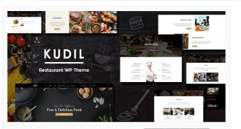 Kudil - Cafe, Restaurant WordPress Theme