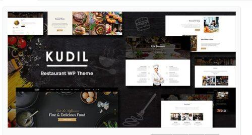 Kudil - Cafe, Restaurant WordPress Theme