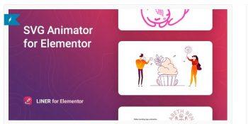 Liner – SVG Animation for Elementor