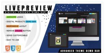 LivePreview - Theme Demo Bar for WordPress