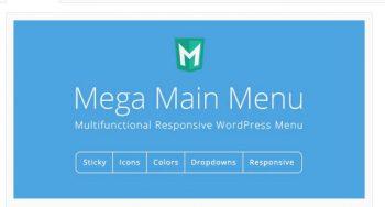 Mega Main Menu - WordPress Menu Plugin