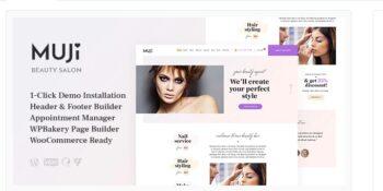 Muji - Beauty Shop & Spa Salon WordPress Theme