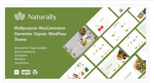 Naturally - Organic Food & Market WooCommerce Theme