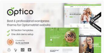 Optico - Optometrist & Eyecare WordPress Theme