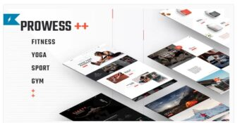 Prowess - Fitness and Gym WordPress Theme