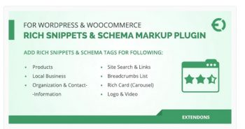 Rich Snippets & Schema Markup Plugin for WordPress & WooCommerce