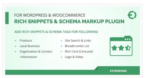 Rich Snippets & Schema Markup Plugin for WordPress & WooCommerce
