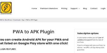 Scroll Progress Bar for PWA