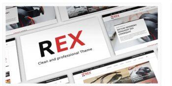 The REX - WordPress Magazine and Blog Theme