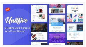 Unit Five - Creative Multi-Purpose Theme + RTL