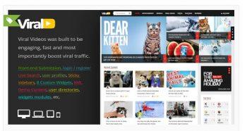 ViralVideo - Responsive Magazine WordPress Theme