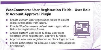 WooCommerce User Registration Plugin - Custom Fields, validate login & customer roles