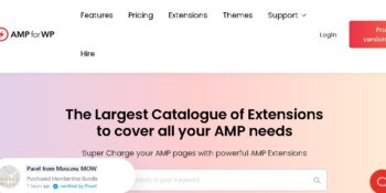 AMP for WP + Extensions Bundle