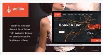 Anubia - Smoking and Hookah Bar WordPress Theme