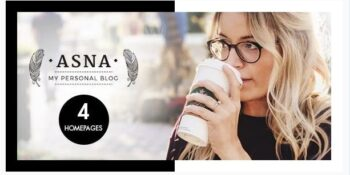 Asna - Creative Blog Theme