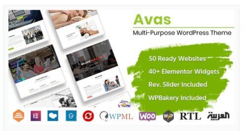 Avas - Multi-Purpose WordPress Theme