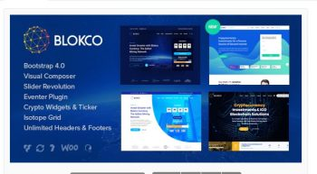 Blokco - ICO, Cryptocurrency & Consulting Business Theme