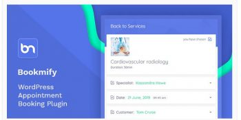 Bookmify - Appointment Booking WordPress Plugin