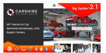 Car Shire - Auto Mechanic & Repair WordPress Theme