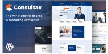 Consultax Financial & Consulting WordPress Theme